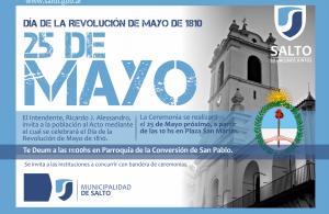 25 DE MAYO A